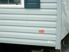 Where Are Hud Labels On Mobile Home